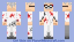MAD SCIENTIST Minecraft Skin