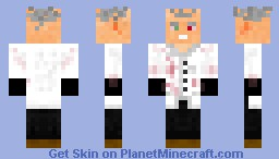 Mad Scientist! Minecraft Skin