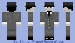 Mafia Member Minecraft Skin
