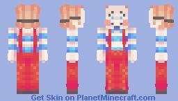 Mask go brrrr  - Skin fight attack (friendly fire) -- Maggotface Minecraft Skin