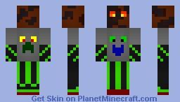 MagmaFun Shader Dark Minecraft Skin
