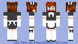 Maid Brogo Minecraft Skin