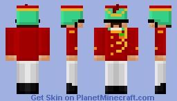 Blocky Major {stratego skin series #4} Minecraft Skin