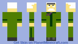 major monogram (phineas and ferb) Minecraft Skin