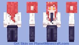 makima Minecraft Skin