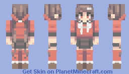 maki harukawa Minecraft Skin
