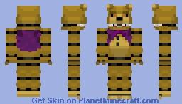 FNaF Custom ~ Stylized Malbear ~ Minecraft skin! Minecraft Skin