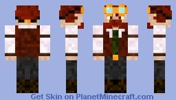 Steampunk (Male) Minecraft Skin