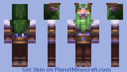 Malfurion Stormrage [World of Warcraft] Minecraft Skin