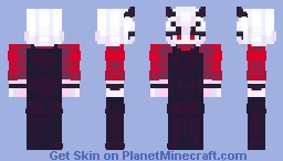 Malina, the Sour Demon Minecraft Skin