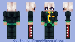 ▌│█║▌║ MAMMON - OBEY ME! ║▌║█│▌ - SPACE Minecraft Skin
