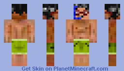 Man Swimsuit Minecraft Skin