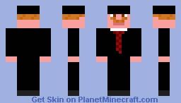 Man The Man Minecraft Skin