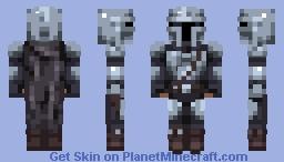The Mandalorian Minecraft Skin