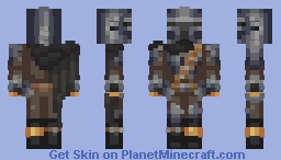 The Mandalorian (Din) ~ MossWife Minecraft Skin