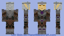 Mannimarco the King of Worms [TES:Online] Minecraft Skin
