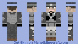 [Request] Marcus Fenix Minecraft Skin
