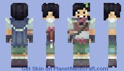 Marcy Wu - Amphibia Minecraft Skin