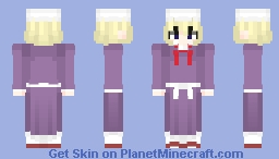 Maribel Hearn (マエリベリー・ハーン) from Touhou Project (東方Project) Minecraft Skin