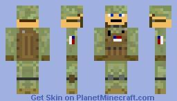 Minecraft US Marine Skin