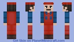 Mario - Super Mario Bros The Movie Minecraft Skin