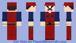 Mario Mario - Super Mario Suit 3 Minecraft Skin