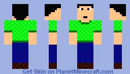 Just a regular guy - Mark Minecraft Skin