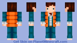 BACK to the FUTURE: Marty Mcfly!! Minecraft Skin