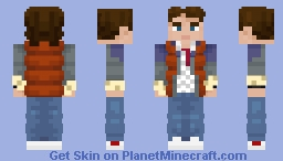 Marty McFly (1985) Minecraft Skin