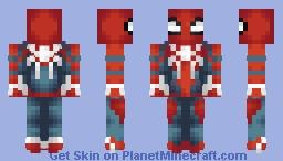 Spider-Man (PS4) Minecraft Skin