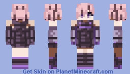 マシュ・キリエライト - Mash Kyrielight / Fate Grand Order JPN Minecraft Skin