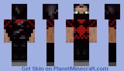 MaskedAssassin Minecraft Skin