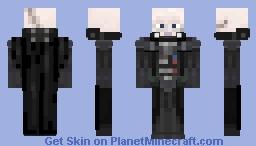 Darth Vader (maskless) Minecraft Skin