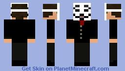 Guy Fawkes Mask Guy Version 2 Minecraft Skin