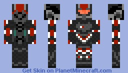 Mass Effect 2 (Better Than Ever!) Minecraft Skin