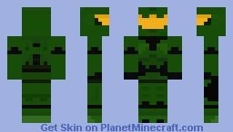 Master Chief Minecraft Skin