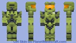 Halo Infinite -  Master Chief Minecraft Skin
