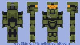 Master Chief-Mjolnir Mark VI (HALO 4) Minecraft Skin