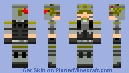 MW3 Seargeant Minecraft Skin