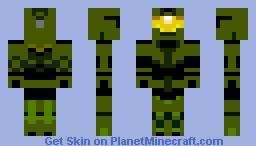 Master Chief - HALO Minecraft Skin