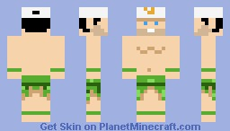 Master Higgins - Adventure Island Minecraft Skin