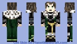 Mathias Cronqvist ( Castlevania ) Minecraft Skin