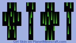 Matrix Man Minecraft Skin