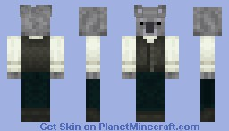Nigel: The Koala in a Vest Minecraft Skin