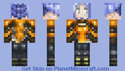Maya the Siren (Borderlands 2) Minecraft Skin