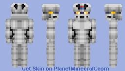 Mazinger Prototype-Armor Minecraft Skin