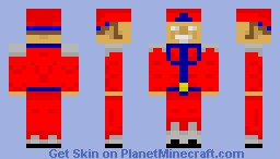 M. Bison From Street Fighter REQUEST Minecraft Skin