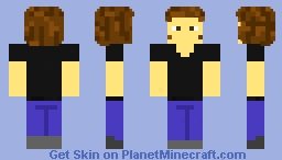 Me but not cringe (default) Minecraft Skin