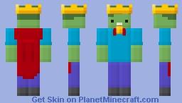 MC Championship Zombie Mascot Minecraft Skin