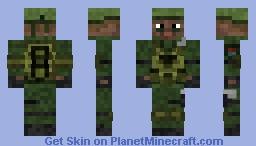 MC Operator Minecraft Skin